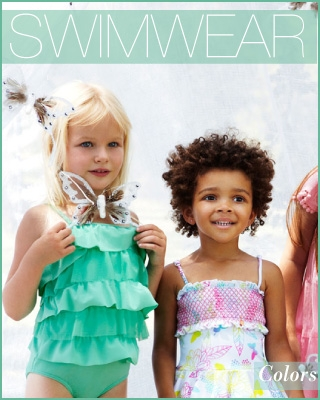 Bright colors for girls by Seafolly