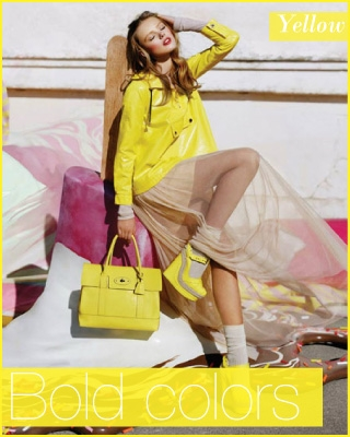 Yellow by Mulberry